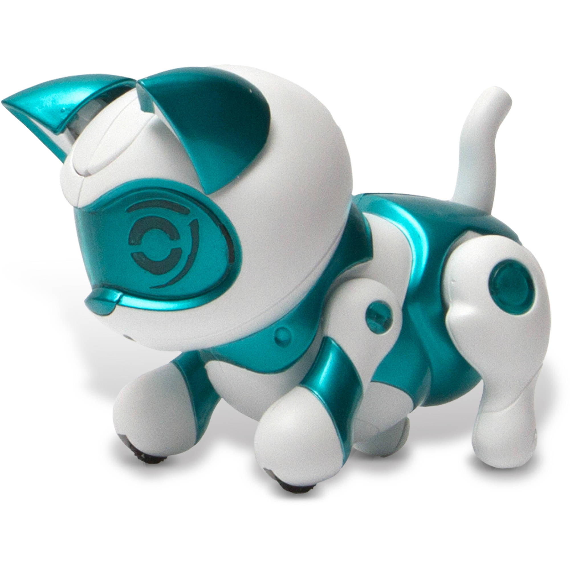 Tekno Robotic Pets Newborn Kitty Teal Walmart Com