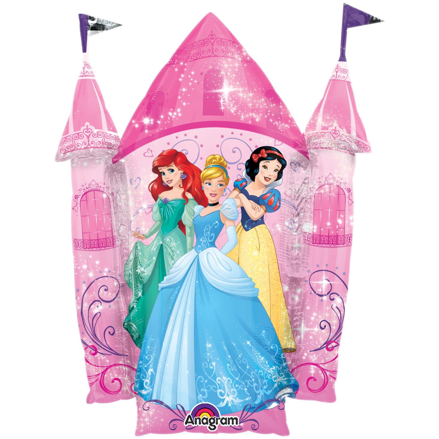 """Disney Princess 35"""" Castle Balloon (Each) - Party Supplies"""