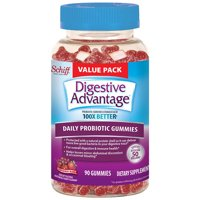 Digestive Advantage Daily Probiotic Gummies, Superfruit Blend - 90 Gummies