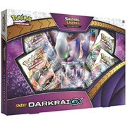 Pokemon Cards: Shiny Darkrai Shining Legends Collection GX Box   4 Booster Packs   1 Never-Before-seen foil Promo Card Featuring Darkrai-GX