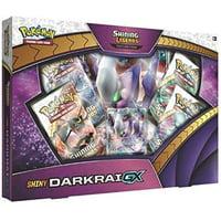 Pokemon Cards: Shiny Darkrai Shining Legends Collection GX Box | 4 Booster Packs | 1 Never-Before-seen foil Promo Card Featuring Darkrai-GX