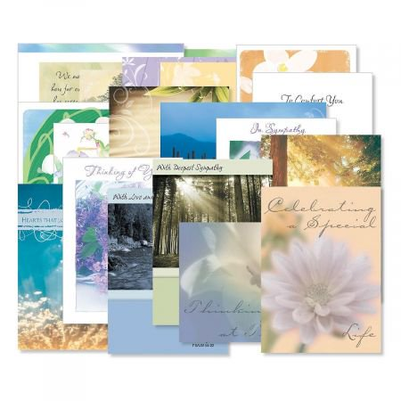 Box Of Sympathy Cards - Mega Sympathy Greeting Card Value Pack - Set of 40 (20 designs), Large 5