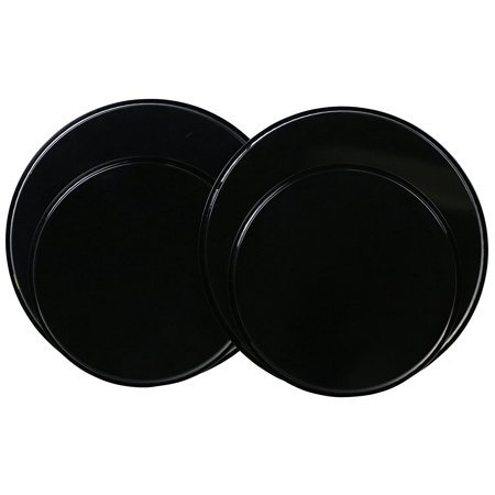 Electric Stove Burner Covers, Set of 4, Black