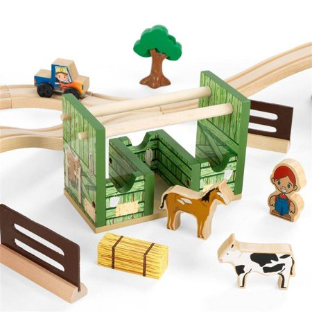 Kidkraft Ride Around Town 100 Piece Train Table And Set Manual - The ...