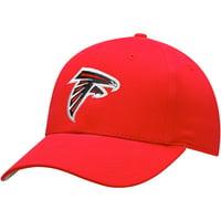 Youth Red Atlanta Falcons Basic Team Color Adjustable Hat - OSFA