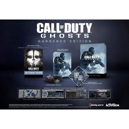 Call of Duty: Ghosts Hardened Edition - Available in PlayStation 4 and Xbox 360 by (Call Of Duty Ghosts Bundle Xbox 360)