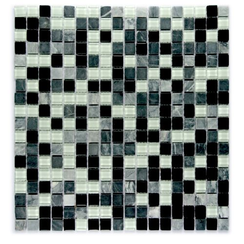 "Miseno MT-GEMSTONE5/8X15 Gemstone - 5/8"" X 15"" - Glass Visual - Wall Tile (Sold by Sheet)"