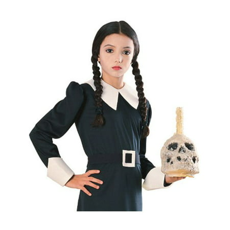 Girl's Wednesday Addams Wig