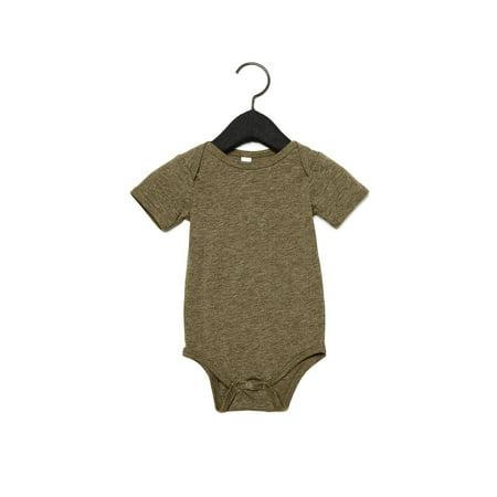 Bella + Canvas - Baby Triblend Short Sleeve Onesie - 134B Bella Short Sleeve Onesie