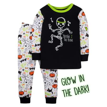 Halloween Cotton Tight Fit Pajamas, 2-piece Set (Toddler Boys)