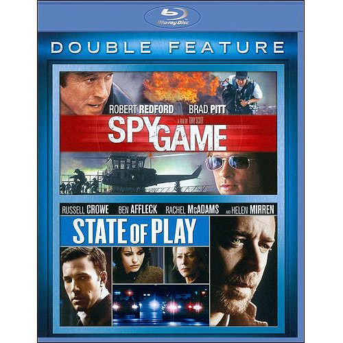 Spy Game/State of Play [BLU-RAY]