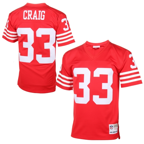Roger Craig San Francisco 49ers Mitchell & Ness Replica Retired Player Jersey - Cardinal