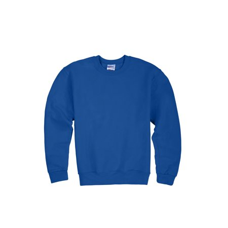Jerzees Mid-Weight Fleece Crewneck Sweatshirt (Little Boys & Big - Jerzees Long Sleeve Sweatshirt