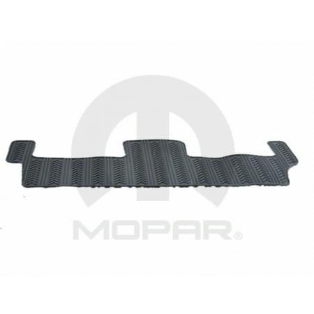 Mopar 82210733AB 3rd Row Slush Mats Dodge C/V Tradesman Caravan Dark Pebble Beige W/ Stow n Go