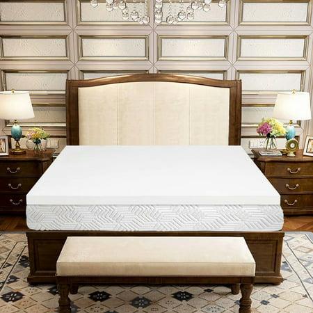Queen Size Single Layer Memory Cotton Mattress, 59.8