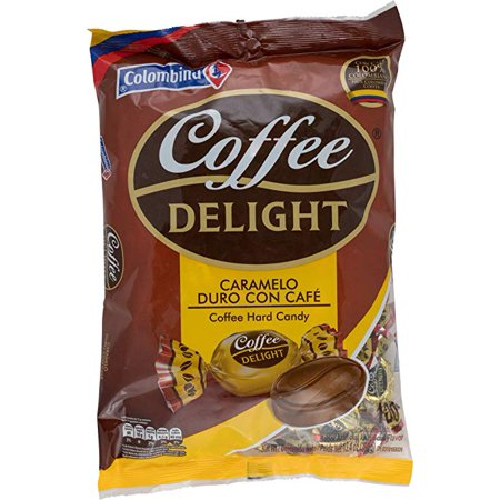 Colombina Coffee Delight 100% Colombian Coffee Hard Candy (Pack of 100)](Candy Cane Coffee)