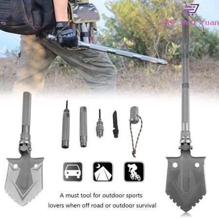 Portable Tri Fold Shovel Outdoor Military Shovel Folding
