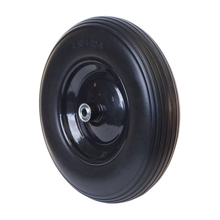ALEKO WBNF16 Flat Free Replacement Wheel for Wheelbarrow, 16