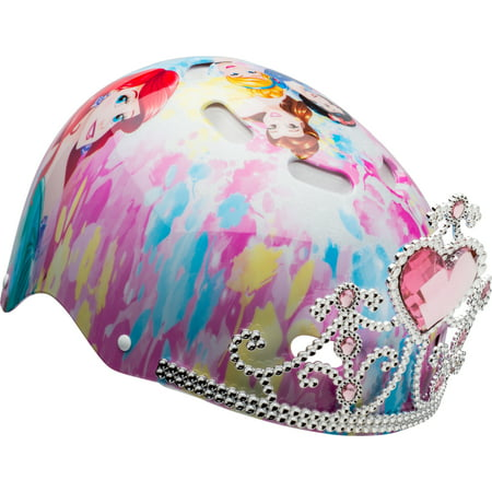 Bell Disney Princess 3D Tiara Multi-Sport Helmet, Child 5+ - Disney Princess Toddler Helmet