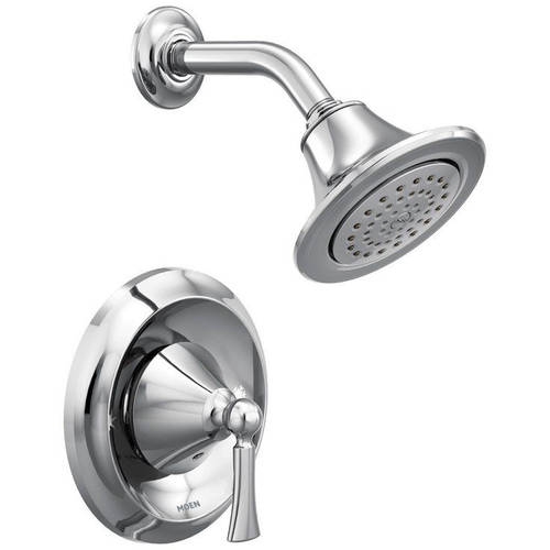 Moen T4502 Wynford Single Handle Posi-Temp Pressure Balanced Shower Trim, Available in Various Colors