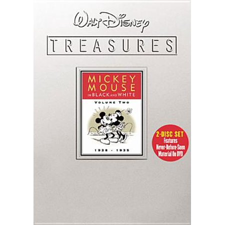 Walt Disney Treasures: Mickey Mouse In Black & White Vol 2 (Disc (Cartoon Characters From The 60s And 70s)