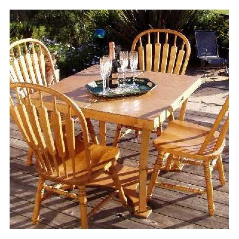 Spiderlegs Hand Crafted and Custom Finished Picnic Folding Table - image 1 de 1