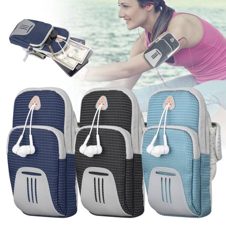 Armband for Phone Running Armband, Universal Cell Phone Arm Holder Case for iPhone X XR XS MAX 8 7 6 Plus/Samsung Galaxy S10 S9 S8 S7/Android, Sports Phone Pouch Arm Band Fit Runner/Exercise/Gym (Set It Off Band Phone Case)