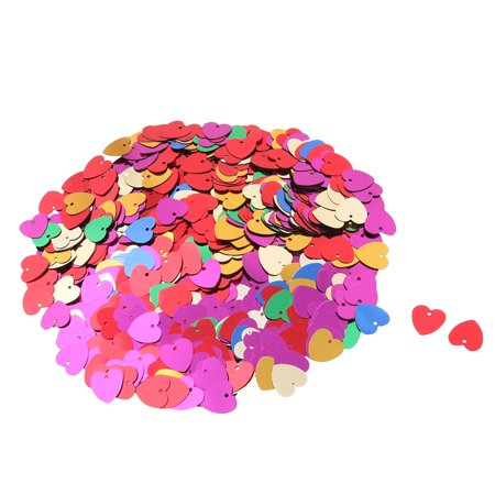 Party Heart Shaped DIY Craft Table Decoration Assorted Color 900pcs