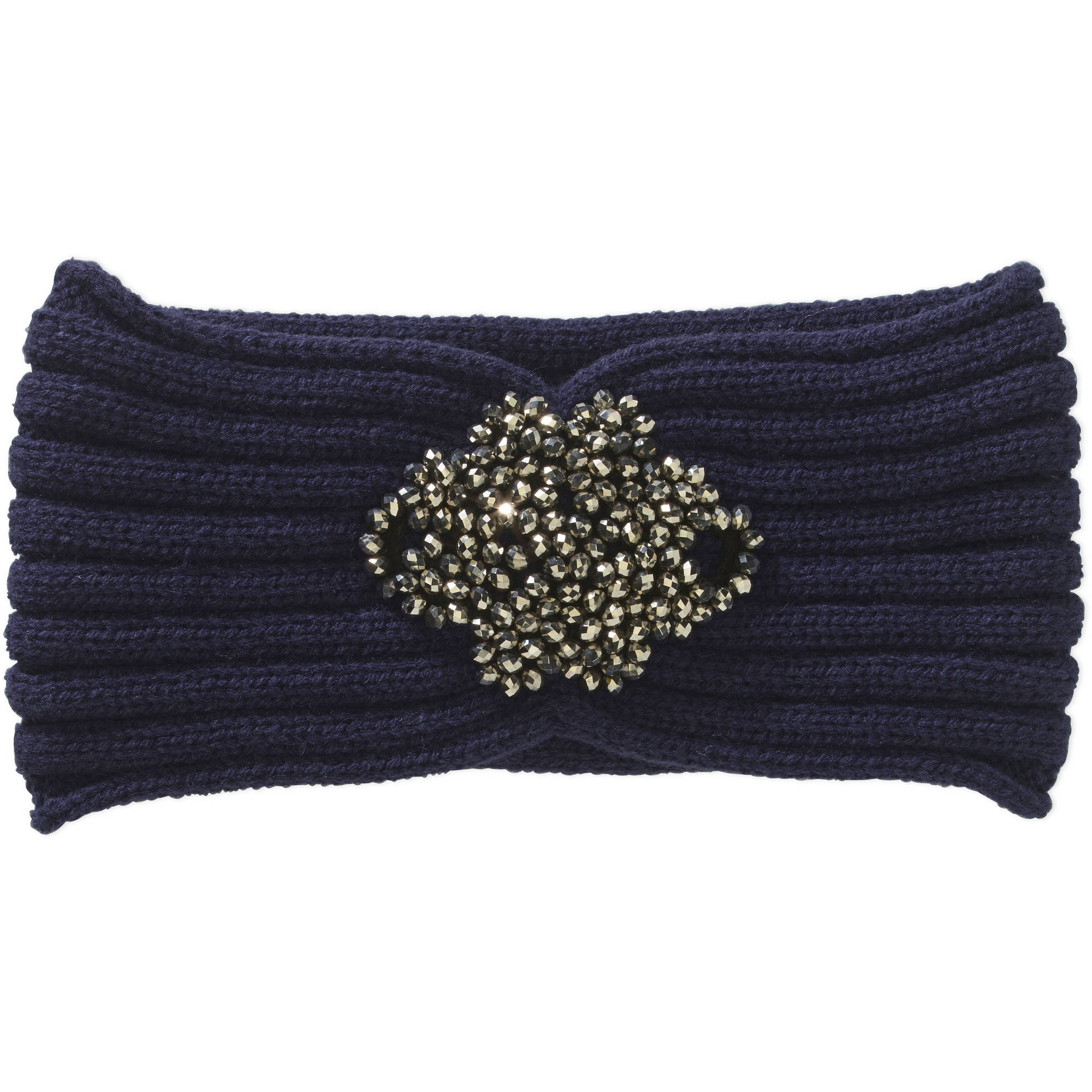 Faded Glory Women's Cold Weather Headband with Bling