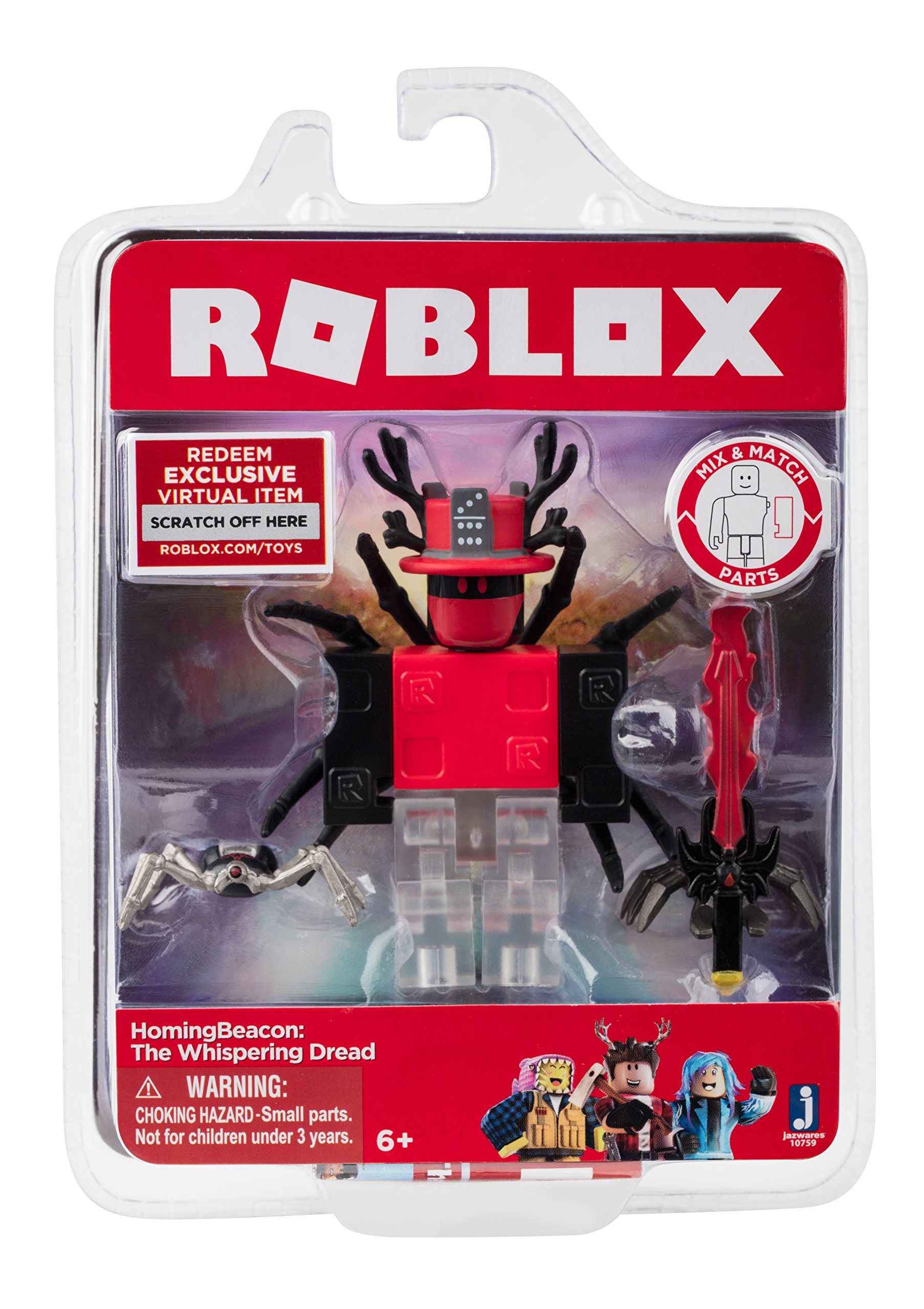 Roblox HomingBeacon: The Whispering Dread Figure Pack