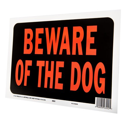 Beware of Dog Sign - Best Warning Signs