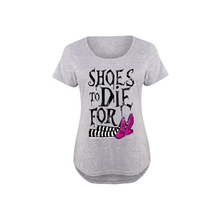 - Shoes To Die For Witch  - Ladies Plus Size Scoop Neck Tee