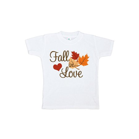Custom Party Shop Baby's Fall In Love Thanksgiving Tshirt - XL (18-20) T-shirt - Fall Items