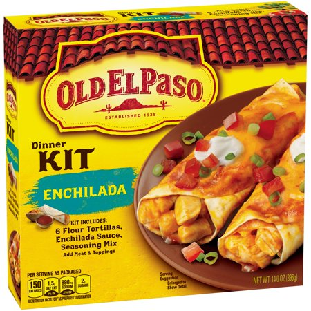 Old El Paso Dinner Kit Enchilada   6 Ct