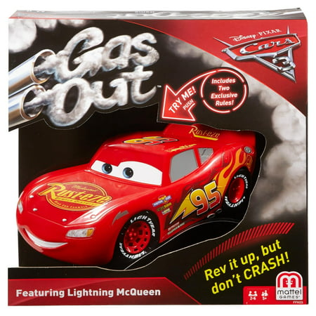 Disney/Pixar Cars 3 Gas Out Game for 2-6 Players Ages (Best Three Player Card Games)