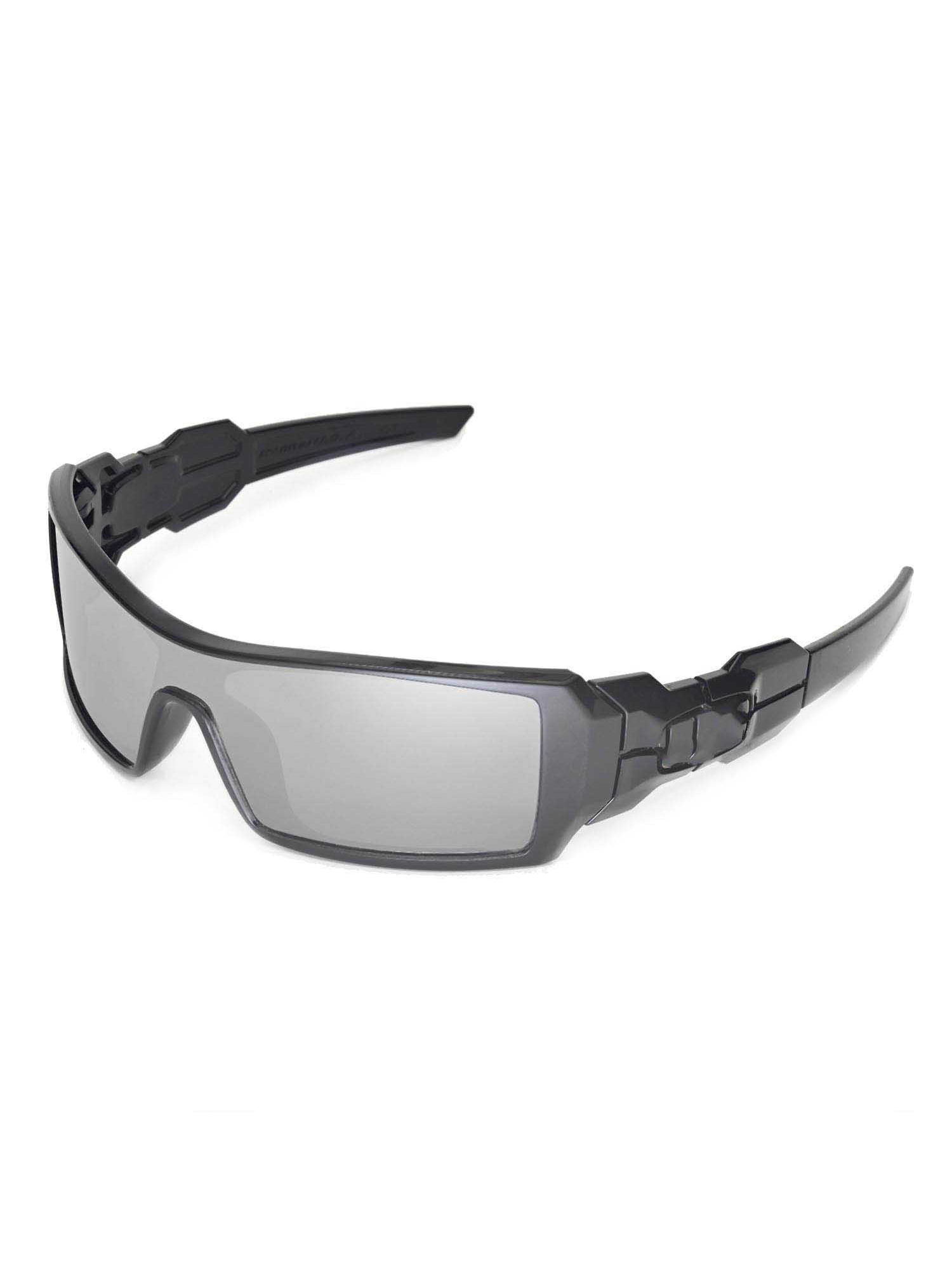 514995e810 Walleva Ice Blue Polarized Replacement Lenses for Oakley Oil Rig Sunglasses