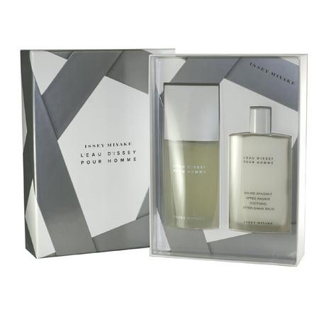 - L'eau De Issey 2 Pc. Gift Set ( Eau De Toilette Spray 4.2 Oz + Soothing Aftershave Balm 3.3 Oz) for Men