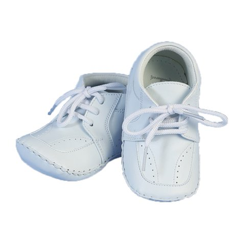 Angels Garment Baby Girls Boys White Christening Lace Shoes 0-3