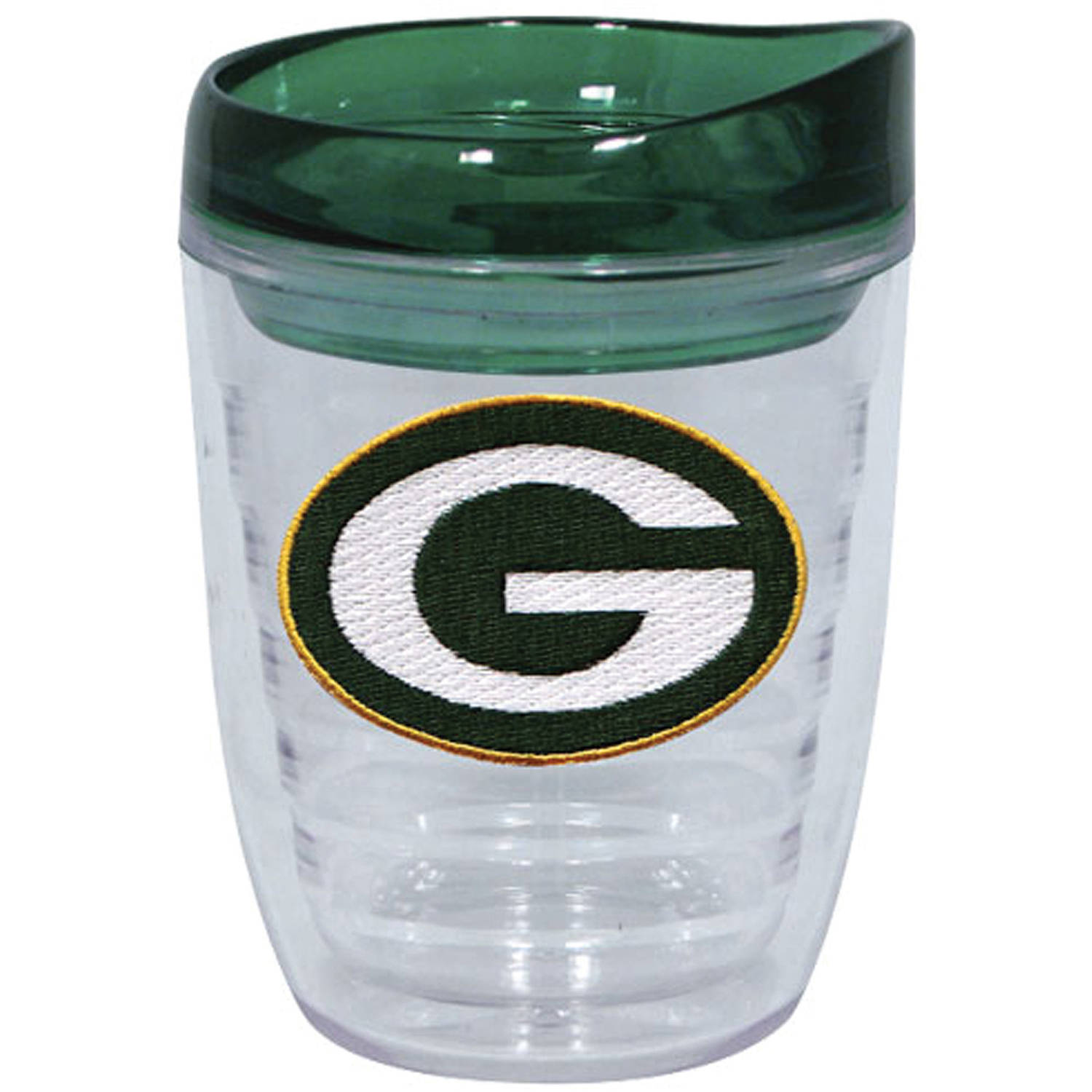 Green Bay Packers 12 oz Slimline Tumbler with Color Lid