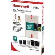 Honeywell True HEPA Replacement Filter R, HRF-R1, White