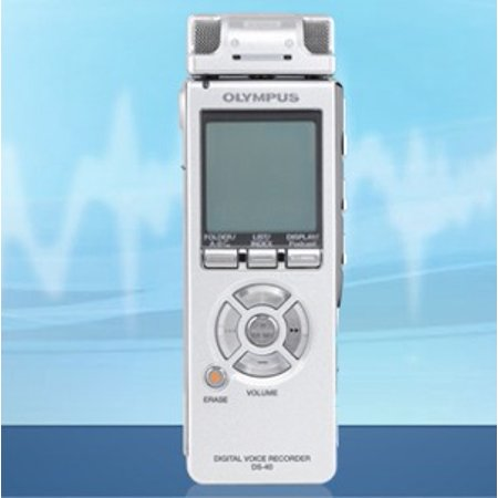 Refurbished Olympus DS-40 Digital Voice Recorder DS40 with Stereo Microphone by