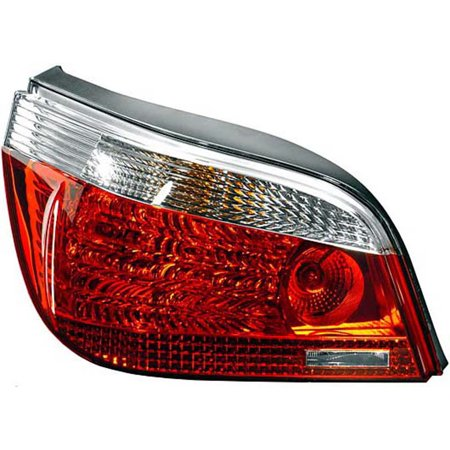 2004-08 BMW 525i Base Sedan 4-Door  Driver Side Left Tail Light Assembly 63217156739 Fits 2004-2008 BMW 5 Series