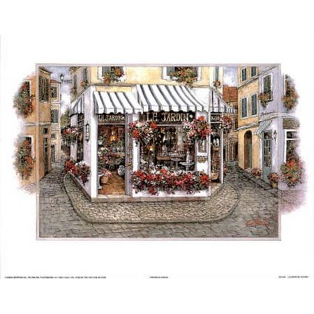 Le Jardin Candlestick - Le Jardin de Fleurs l Mini Poster - 10x8