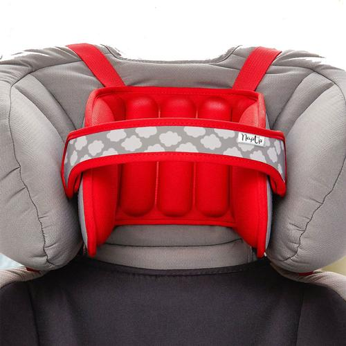 NapUp Child Car Seat Head Support Red by NapUp