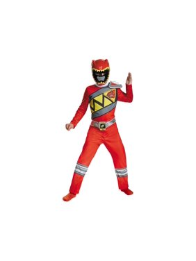 Dino Charge Power Rangers Red Ranger big Boys Costume