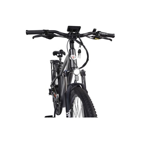 "T4B Enduro Hard Tail City and All Terrain Bike - Bafang 350W Brushless Electric Motor, 8 Speed, Samsung Li-Ion Battery 36V13Ah, 27.5"" Tires - Black - image 9 de 12"