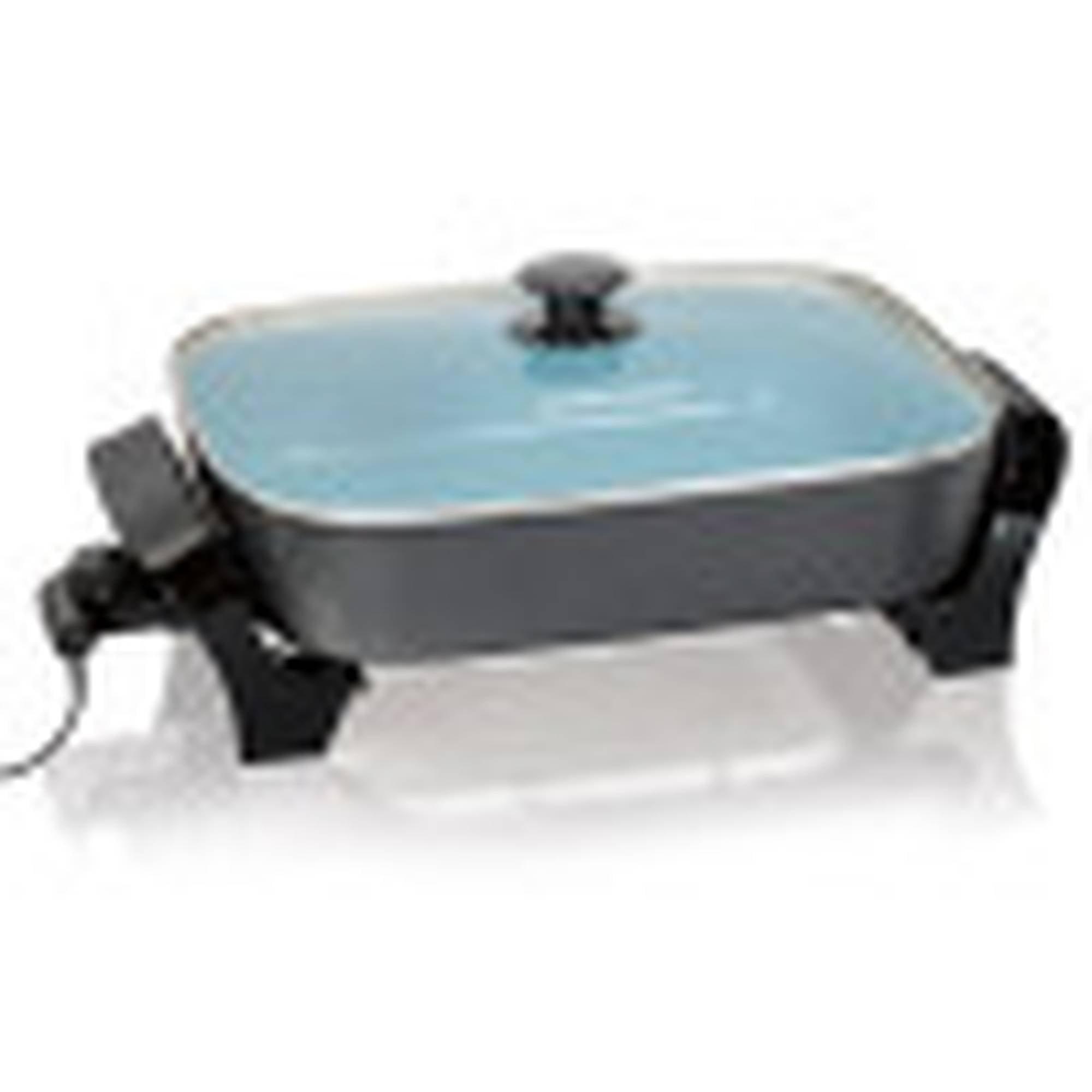 Hamilton Beach Deep Dish Ceramic Skillet, 38528 - Walmart.com