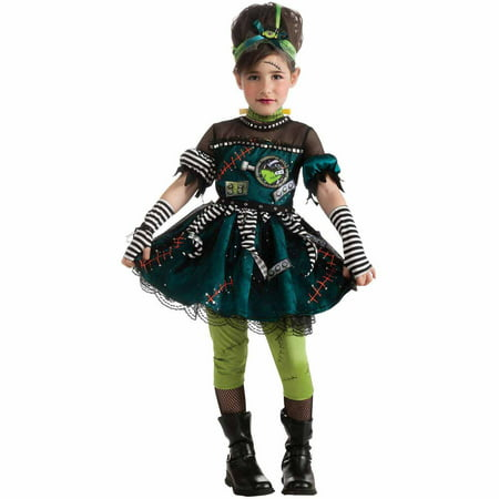 Frankie's Princess Toddler Halloween Costume, Size 3T-4T](Frankie Stein Kids Costume)