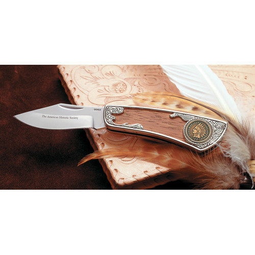 American Coin Treasures 5751 100-Year Old Indian Head Penny Pocket Knife