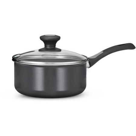 - Tramontina 2-Quart Select Non-Stick Covered Sauce Pan, Gray